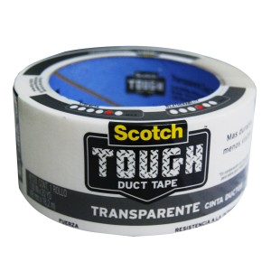 3M DUCT TAPE TOUGH TRANSP HIPERF 1.88X20