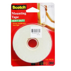 3M SCOTCH MOUNTING TAPE 24MMX5M